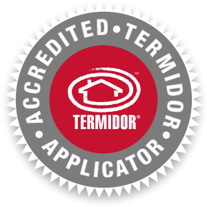Termidor accredited application badge